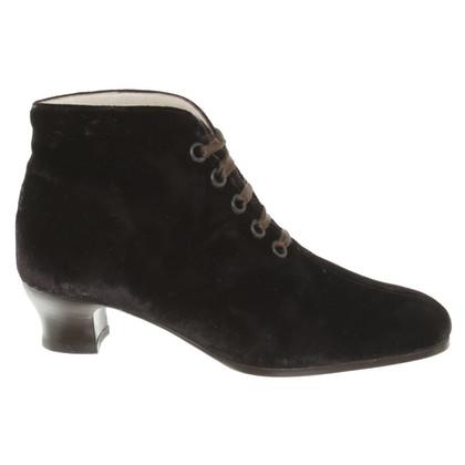 Giorgio Armani Boots in Dark Brown