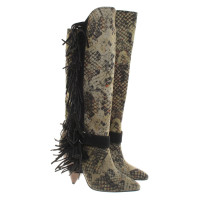 Isabel Marant Boots with python print