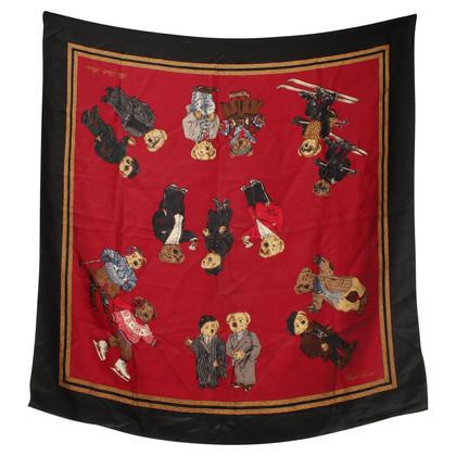 Ralph Lauren Zijden sjaal afdrukken