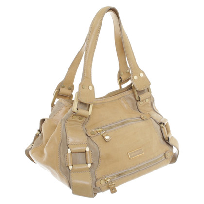 Jimmy Choo Handtas in beige