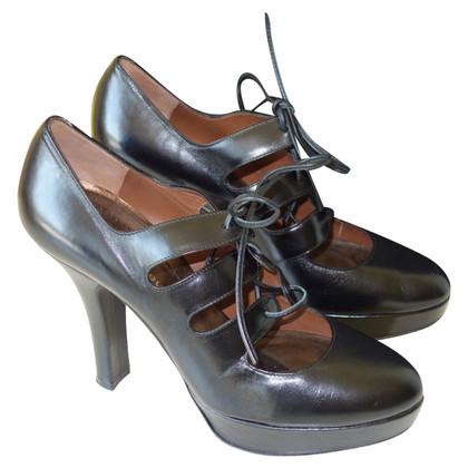 Barbara Bui Plateau pumps avec des lacets