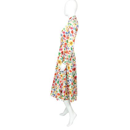 Kenzo Robe chemise à fleurs - Années 1970
