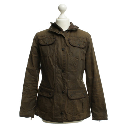 Barbour Jacke in Oliv