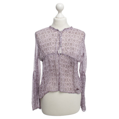 DKNY Silk blouse in purple
