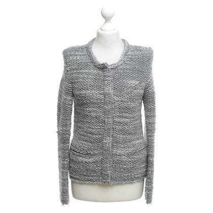Iro Bouclé jacket in grey