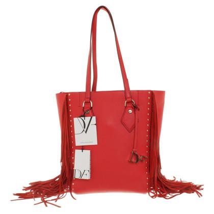 Diane von Furstenberg Shopper in Rot