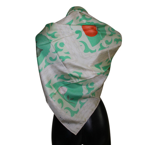 Bulgari foulard de soie - Acheter Bulgari foulard de soie d occasion ... 163e80c6569