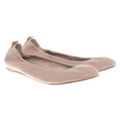 Lanvin nude coloured Ballerinas