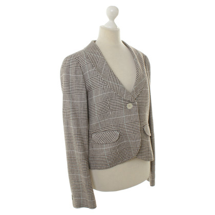 Armani Collezioni Blazer with Houndstooth pattern