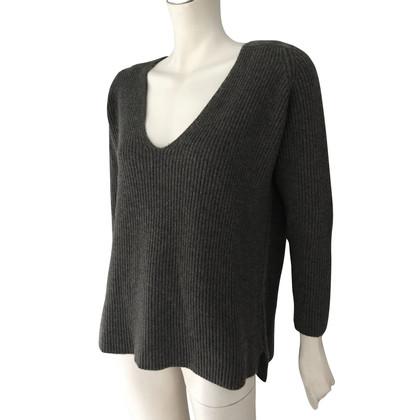 Hermès Cashmere sweater in grey