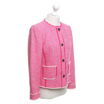 Marc Cain Jacket in pink / white