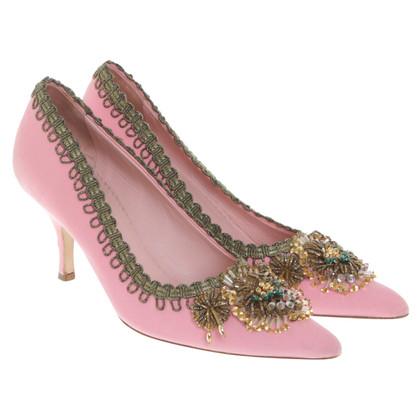 Miu Miu pumps in rosa