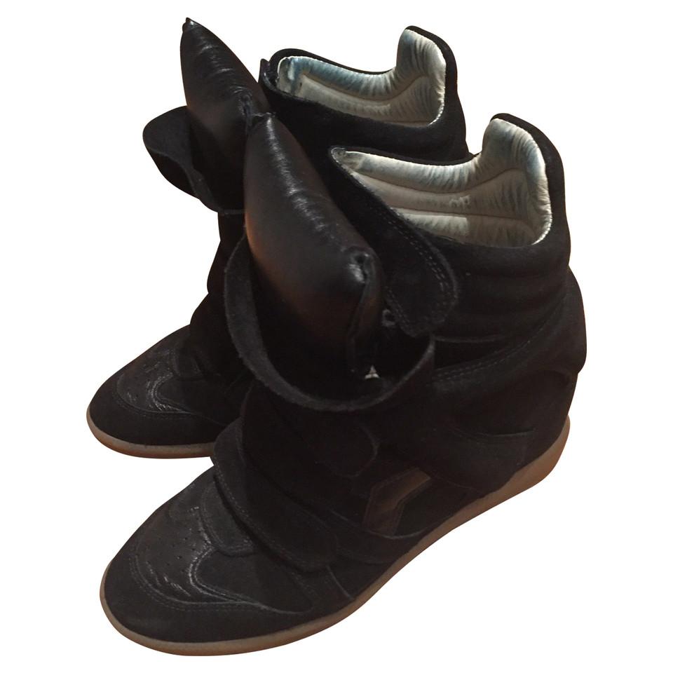 Isabel Marant Sneaker wedges in black