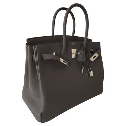 Hermès Birkin Bag 35 Etain