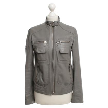Dolce & Gabbana Leather jacket in biker style