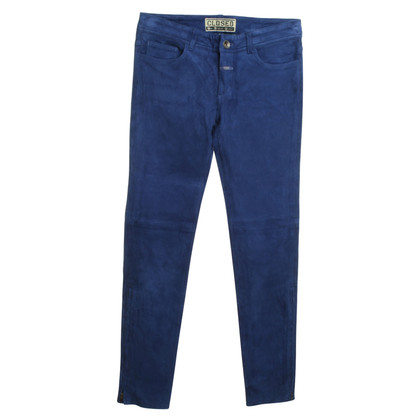 Closed Pants made of lambskin