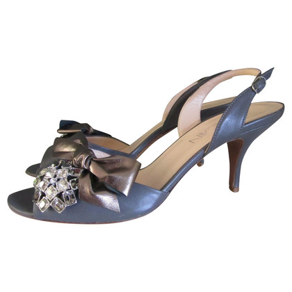Marc Cain pumps Sling con Strass