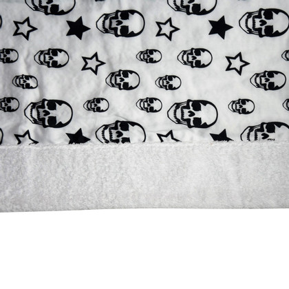 Philipp Plein Bath towel with pattern