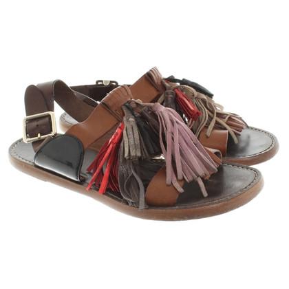 Isabel Marant Etoile Sandalen aus Leder