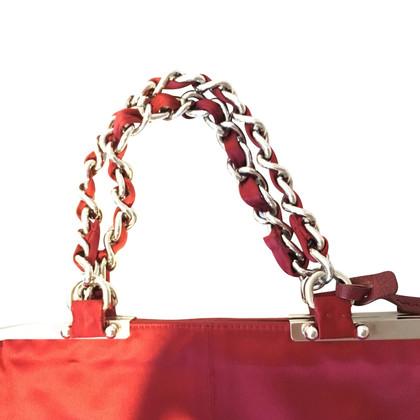 Dolce & Gabbana Satin bag red