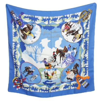 Hermès Zijden sjaal ontwerp afdrukken
