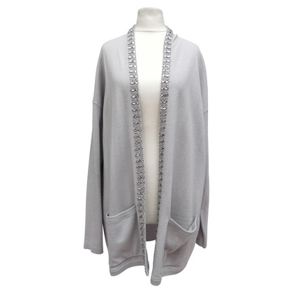 Allude Cardigan with decorative stones