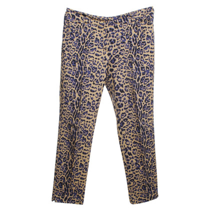 Laurèl Pantaloni con Animal Print