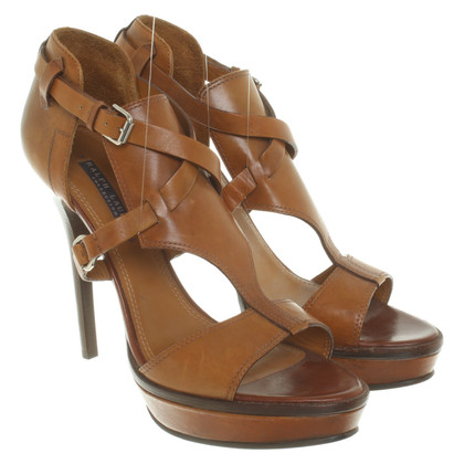 Ralph Lauren Cognac-colored sandals