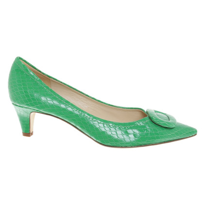 Kate Spade pumps with reptile embossing