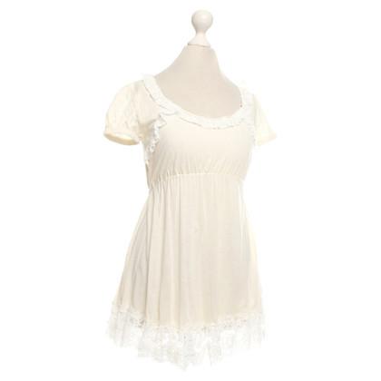 Dolce & Gabbana top in creamy white