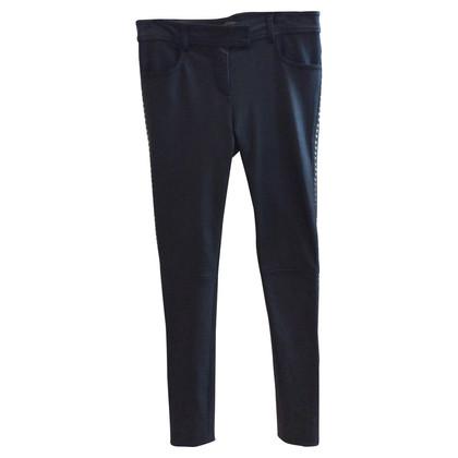 Altre marche DNA - pantaloni con rivetti in pelle