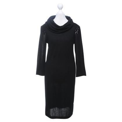 Schumacher Gebreide jurk zwart