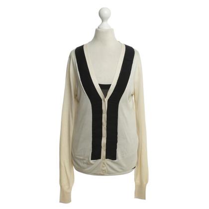 Dolce & Gabbana Silk fine knit twin set