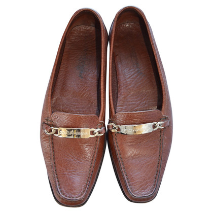 Dolce & Gabbana Vintage Mokassins aus Leder