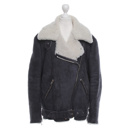 Acne Flight Jacket in Anthracite
