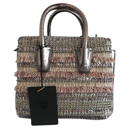 "MCM ""Milla Bag Crystal Tweed"""