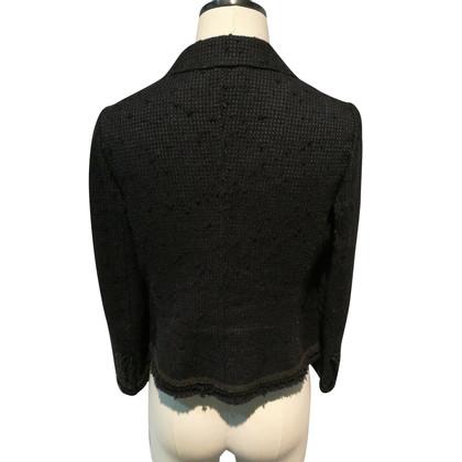 Prada Boucle Blazer black