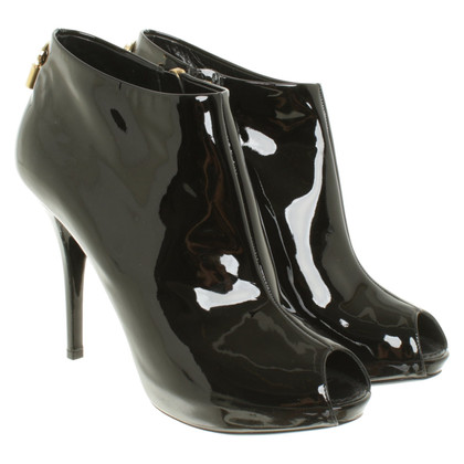 Louis Vuitton Peep Toe Boots