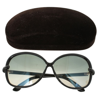 Tom Ford Schwarze Sonnenbrille