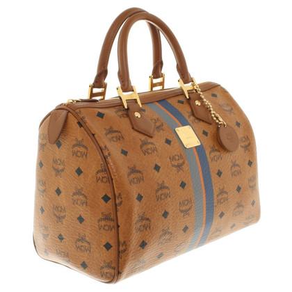 MCM Handtasche mit Muster