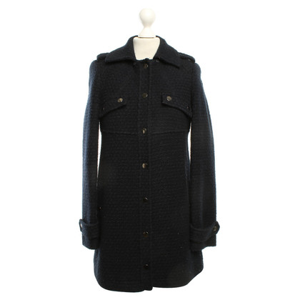 Stefanel Coat in dark blue
