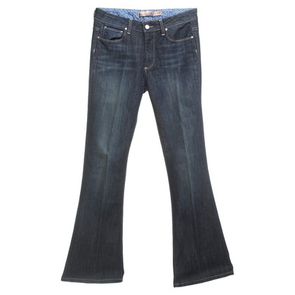 Paige Jeans Bootcut jeans in donkerblauw