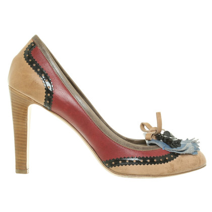 Etro pumps in multicolor
