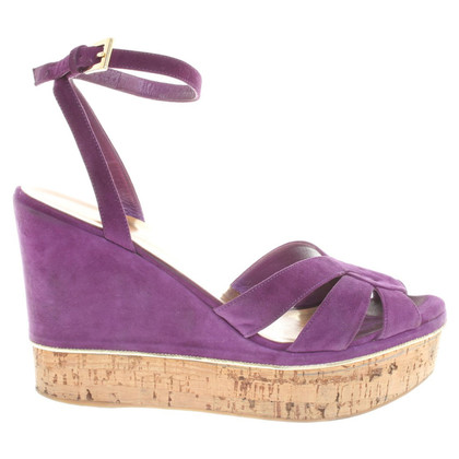 Sebastian Wedges in violet