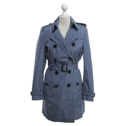 Burberry Trenchcoat in Taubenblau