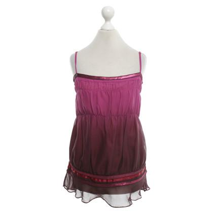 Karen Millen Silk top with gradient