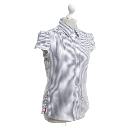 Prada Blouse with striped pattern