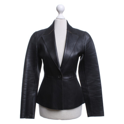 Prada Leather jacket in black
