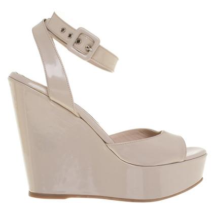 L'autre Chose Sandaletten aus Lackleder