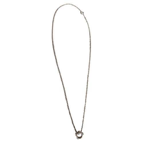 aa7db8d7df62c Tiffany & Co. Necklace Silver in Silvery - Second Hand Tiffany & Co ...